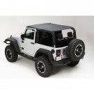 Island Topper, Black Diamond, 07-09 Jeep Wrangler (JK)