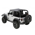 Summer Brief, Black Diamond, 10-15 Jeep Wrangler (JK)