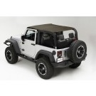 Summer Brief Top, Diamond Khaki, 10-15 Jeep Wrangler (JK)