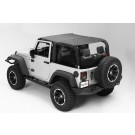 Pocket Island Topper, Black Diamond, 10-15 Jeep Wrangler (JK)