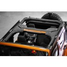Roll Bar Cover, Vinyl, 07-15 Jeep Wrangler Unlimited (JK)