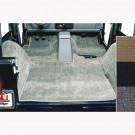 Deluxe Carpet Kit, Gray, 76-95 Jeep CJ and Wrangler Models