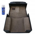 Deluxe Carpet Kit with Adhesive, Honey, 97-06 Jeep Wrangler (TJ)