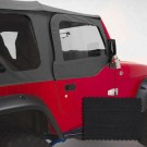 Door Skins, Black Diamond, 97-06 Jeep Wrangler