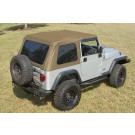 Bowless XHD Soft Top, Spice, 97-06 Jeep Wrangler (TJ)