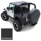 Tonneau Cover Blk Diamond for 04-06 Jeep Wrangler LJ