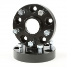 Wheel Spacers, 1.25 Inch, 5 x 5-Inch, 99-04 WJ