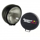 6-Inch Round HID Off Road Fog Light, Black Steel Housing