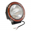 5-Inch Round HID Off Road Light, Black Composite Housing