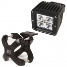 Small X-Clamp & Square LED Light Kit, Black, 1-Piece