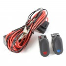 Light Wiring Harness Kit, 2 lights
