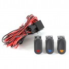 Light Wiring Harness Kit, 3 lights