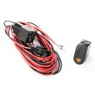 Light Wiring Harness Kit, 1 Light, Amber Switch