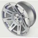 XHD Aluminum Wheel, Silver, 17 inch X 9 inches