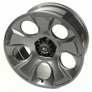 Drakon Wheel, 20x9, Gun Metal, 07-15 Jeep Wrangler (JK)