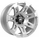 XHD Aluminum Wheel, Silver, 18x9, 07-15 Jeep Wrangler (JK)