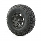 Wheel/Tire Package, 17 XHD, Black Satin, 37x12.50x17 ATZ P3, 07-12 JK