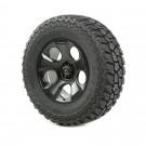 Wheel/Tire Package, Drakon, Black Satin, 37x12.50x20, 07-12 JK