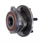 Front Axle Hub Assembly, 00-06 Jeep Wrangler and Cherokee