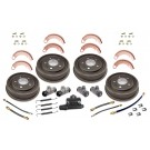 Drum Brake Overhaul Kit, 48-63 Willys and Jeep Models