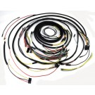 Wiring Harness With Cloth Cover, 55-56 Jeep CJ Models