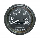 Speedometer Gauge, 0-60 MPH, 80-86 Jeep CJ Models