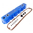 Blue Aluminum Valve Cover, 81-87 Jeep CJ and Wrangler
