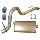 Muffler and Tailpipe, 91-92 Jeep Wrangler (YJ)