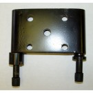 LH Spring Plate, 76-86 Jeep CJ Models