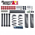2-Inch Lift Kit without Shocks, 04-06 Jeep Wrangler Unlimited (LJ)