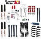 4-Inch Lift Kit with Shocks, 04-06 Jeep Wrangler Unlimited (LJ)