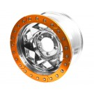 JK Creeper Locks, 5 Lug (5 on 5) w/Burnt Orange Beadlock