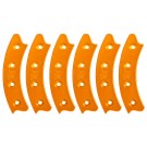 "Beadlock Ring, Segmented 17"", Orange (Set of 6)"
