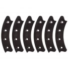 "Beadlock Ring, Segmented 17"", Black (Set of 6)"