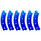 "Beadlock Ring, Segmented 17"", Blue (Set of 6)"