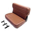 Fold and Tumble Replacement Rear Seat, 76-95 Jeep CJ and Wrangler