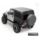 Hard Top 2 Piece No Doors for 07-12 WRANGLER JK 2DOOR