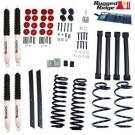 2-Inch Lift Kit with Shocks, 04-06 Jeep Wrangler Unlimited (LJ)