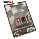 Rear Track Bar Bushings, Red, 93-98 Jeep Grand Cherokee (ZJ)