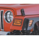 Euro Head Light Covers, B for 97-06 Wrangler