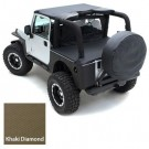 TONNEAU EXT DIAMOND KHA for 07-12 WRANGLER JK 4DOOR