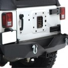 XRC REAR BUMPER W HITCH for 07-12 WRANGLER JK 2/4DOOR