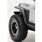 XRC TJ TUBE FENDERS 3inFR for ATTACHED FLARES 97-06 WRG