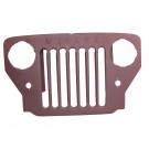 Grille, Willys Script, 53-64 Willys CJ3B