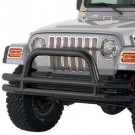 Tube Frt Bmp W/Hoop Blk for 07-12 WRANGLER JK 2/4DOOR