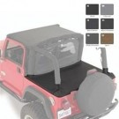 TONNEAU EXT DIAMOND BLK for 07-12 WRANGLER JK 4DOOR