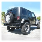 Tube RR Bmp W/O Hitch Blk for 07-12 WRANGLER JK 2/4DOOR
