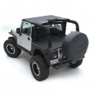 TONNEAU COVER DIAMOND KHA for 07-12 WRANGLER JK 2DOOR