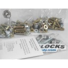 Complete Install Kit (60 degree valve stem, 4 wheels)