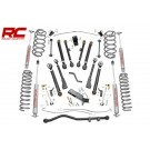 6IN JEEP X-SERIES SUSPENSION LIFT KIT